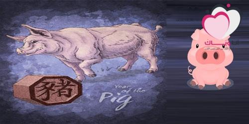 كل ما يخص برج الخنزير الصيني (التوافق،العاطفة،المال،الصحة،المشاهير)